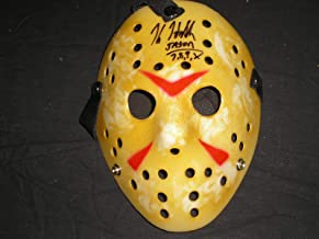 signed jason mask