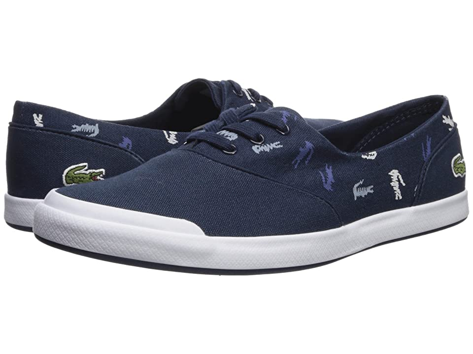 Lacoste Lancelle 3 Eye 218 1 (Navy/White) Women