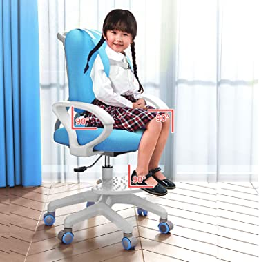 Vehpro Children's Learning Chair- Sitting Posture Correction Chair with Highly Adjustable Home Seat, Soft 3D Memory Elast