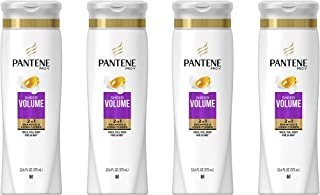 Pantene Pro-V Sheer Volume 2 In 1 Shampoo & Conditioner, 4 Count