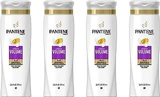 Pantene Pro-V Sheer Volume 2 In 1 Shampoo & Conditioner, 4 Count