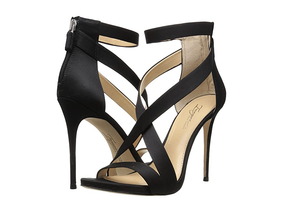Vince Camuto Devin (Black Satin) High Heels
