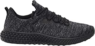 Shoexpress Men's Textured Trainers with Lace-Up Closure