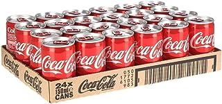 Coca Cola Original Coke Cans 24 x 150ml (24 Cans)