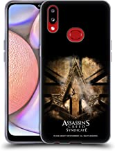 Official Assassin's Creed Gold Shilling Necklace Syndicate Logo Art Soft Gel Case Compatible for Samsung Galaxy A10s (2019)