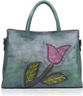 APHISON Designer Soft Leather Totes Handbags for Women, Ladies Satchels Shoulder Bags 8171