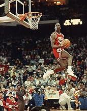 Liah FineArts Michael Jordan 35cm x 35cm Silk Poster Dunk and Shot Cadeaux de No/ël Parfaits pour la d/écoration de la Chambre du Salon ou de la Classe