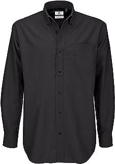 B&C Men's Oxford Long Sleeve Shirt Business