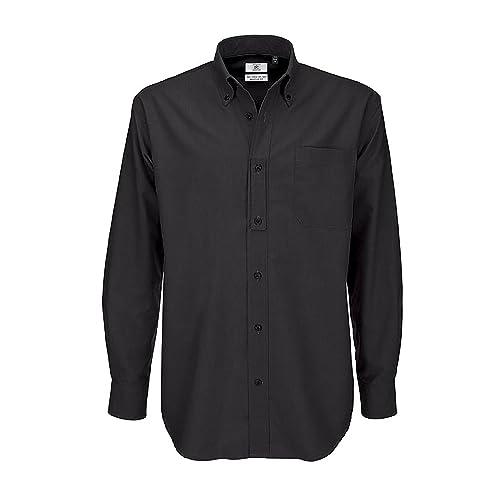para Hombre Caballero B/&C Tallas grandes Camisa de manga corta Modelo Oxford Fiesta//Trabajo//Eventos importantes