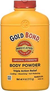 CHATTEM LABS 041167010402 Med Pwdr Size 4z Gold Bond Medicated Powder 4oz, White