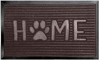 Gorilla Grip Original Durable Natural Rubber Door Mat, Waterproof, Low Profile, Heavy Duty Doormat for Indoor and Outdoor,...
