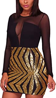 Best black and gold club dress Reviews