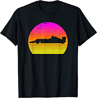 Vintage Retro Formula Racing | Distressed Racing Party T-Shirt