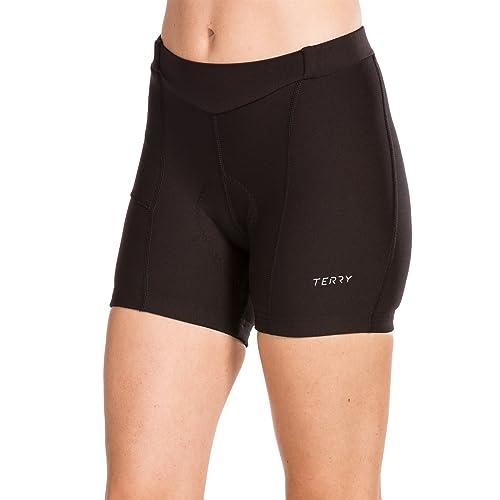 b661f12c7056 Terry Women's Touring Cycling Shorts/Short - Ladies Padded Bike Shorts,  Moisture-Wicking