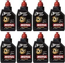 Motul 105777 Set of 8 Gear 300 75W-90 Transmission Fluid 1-Liter Bottles