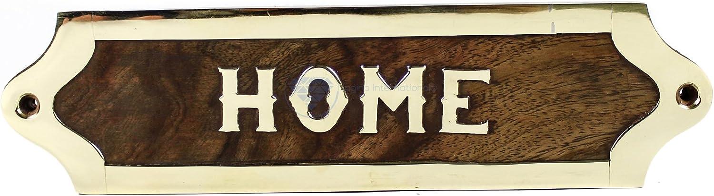 Nagina International Home Wooden Plaque Door Handcrafted Mesa Mall Sign Raleigh Mall