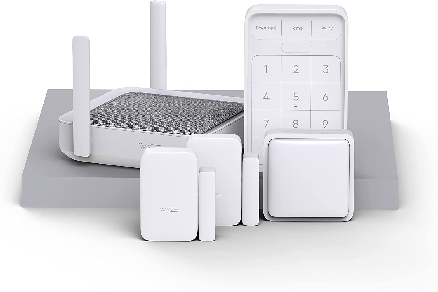 Max 42% OFF Wyze Home Virginia Beach Mall Security System Core Kit Keypad Motion with Ent Hub