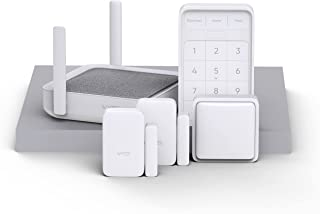 Wyze Home Security System Sense v2 Core Kit with Hub, Keypad, Motion, Entry Sensors (2), and 6 Months of 24/7 Professional...