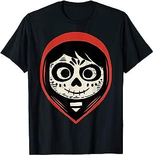 Pixar Coco Miguel Sugar Skull Portrait T-Shirt