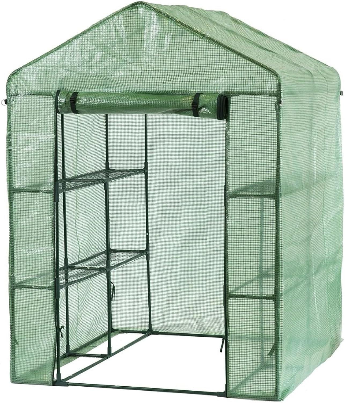 Nature Greenhouse Plant Predector Net Mesh UVproof 143x143x195 cm Green 6020410