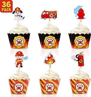 Best fireman birthday cupcakes Reviews