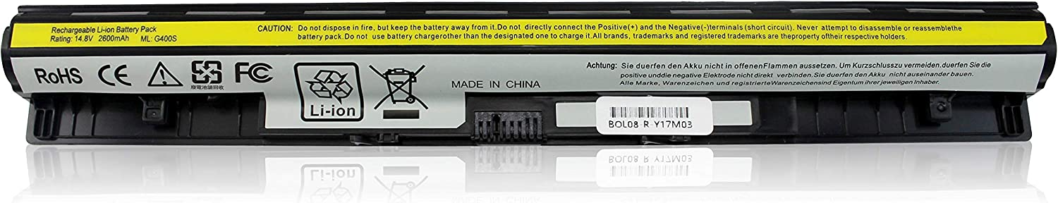 Popular standard Max 66% OFF Shareway 4-Cell Replacement Laptop Battery Lenovo G40-45 for G40