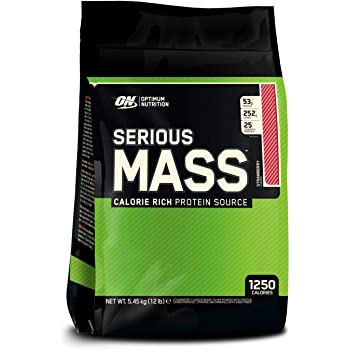 Optimum Nutrition ON Serious Mass proteina en polvo mass gainer ...