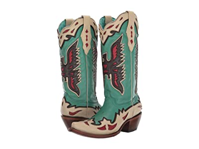 Corral Boots A3779 (Turquoise) Women