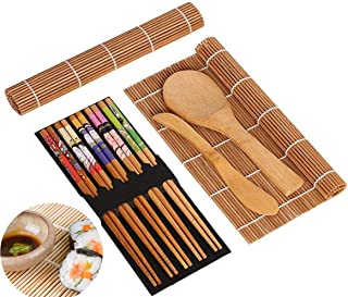 ANDUS Sushi Set, 9 Teile, Sushi Maker Set für Anfänger, Ba