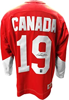 Paul Henderson Signed Team Canada 1972 Home Jersey