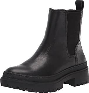 Lucky Brand Womens EMALI BOOT, (أسود), 39 EU