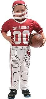 University of Oklahoma Toddler Football Player Costume, Size 3-4
