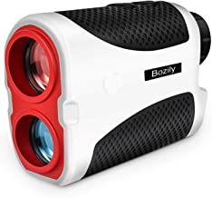 Bozily Golf Rangefinder,Hunting Rangefinder 6X Laser Range Finder 1000 Yards with Slope ON/Off Technology, Fast Flag-Lock,...