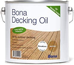 Bona Decking Oil kleurloos, 10 liter
