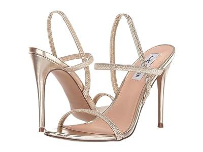 Steve Madden Gabriella Heeled Sandal (Gold) High Heels