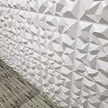 Kit com 12 Placas 3D AutoAdesivas Revestimento de Parede Alpes 50x50cm 3m²