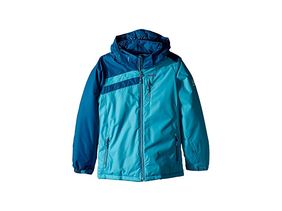 Kamik Kids Nova Jacket (Little Kids/Big Kids) (Tide/Pacific) Girl