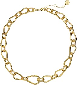 "18"" Short Chain Link Necklace"