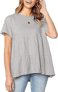Grey Top Loose Top Minimalist Shirt Gray Womens Wear Long Sleeve Shirt Modest Shirt Gray Blouse Womens Gray Top Women Gray Shirt