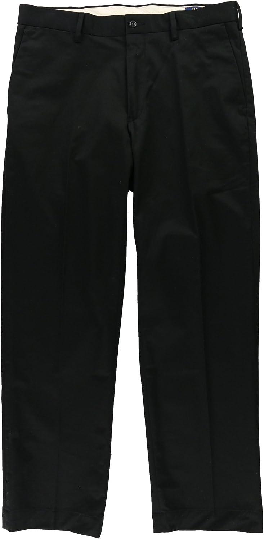 Ralph Lauren Mens Twill Casual Chino Pants, Black, 36W x 34L