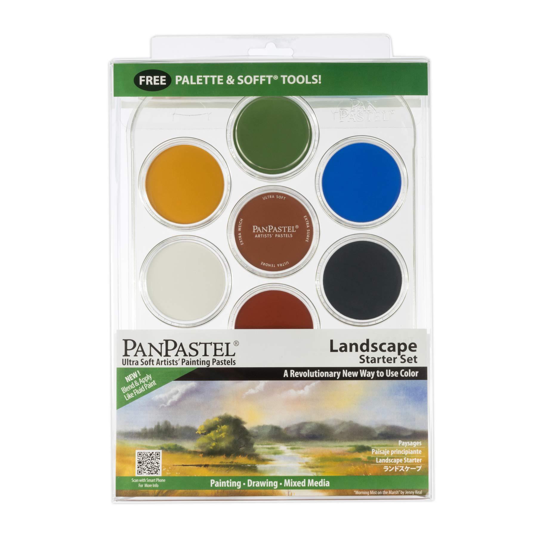 PANPASTEL 5 Color Starter Set-Juego de pintura