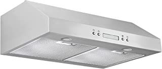 Ancona UCP430 Under-Cabinet Range Hood, 30-Inch, Stainless Steel