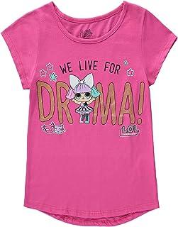 Vintage Style Chihuahua Toddler Girls T Shirt Kids Cotton Short Sleeve Ruffle Tee