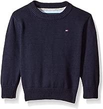 Tommy Hilfiger Boys' Long Sleeve Alan Crew Neck Sweater