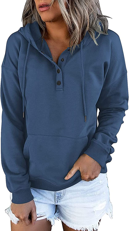 Pmmqrrkuu Hoodies for Women Pullover Sweatshirts Sleeve V Long Ranking TOP1 N New arrival