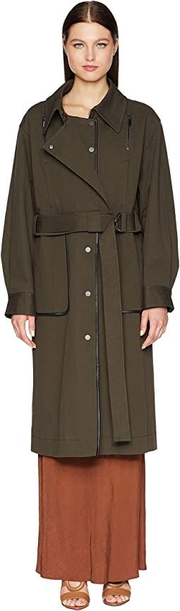Convertible Trench Bomber Coat