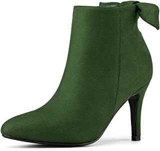 Women's Pointed Toe Stiletto Heel Ankle Boots