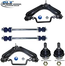 DLZ 6 Pcs Front Suspension Kit-2 Upper Control Arm 2 Lower Ball Joint 2 Sway Bar Compatible with 2002 2003 2004 2005 Ford Explorer 2002 2003 2004 2005 Mercury Mountaineer