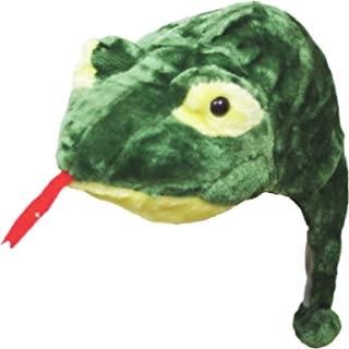 Petitebella Green Snake Warm Hat Costume Unisex Children Adult for Party