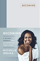 Becoming: A Guided Journal for Discovering Your Voice ハードカバー